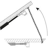 Установка на дверь или форточку на подвижную и не подвижную её часть